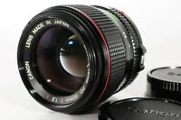 [Near MINT] CANON NEW FD 50mm F1.2 L Prime lens Japan Seller No 20170