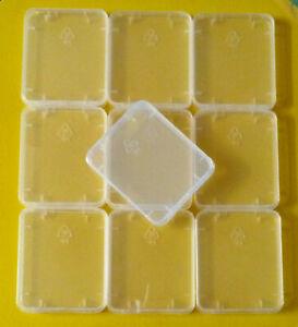 10x Schutzbox für CF Compact Flash Speicherkarten Aufbewahrungsbox Hülle Case