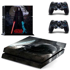 Sony PS4 Console and Controller Skins / Decal -- Star Wars - Darth Vader (#0127)