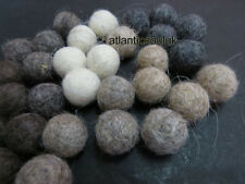 USF12 Handmade 2cm/20mm 50pc pom pom beads wool Garland Kids Craft Felt Balls