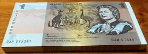 1982 $1 BUNDLE x 100 FULLY CONSEC NOTES..JOHNSTON/STONE..UNCIRCULATED..ORIGINAL.