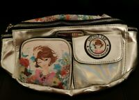 Nicole Lee Fanny Pack Silver base color New with tags