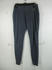 Matilda Jane womens solid gray leggings L EUC