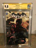 Batman #50 CGC SS 9.8 Paris Comics Expo & Pulp's Comics Exclusive Cover