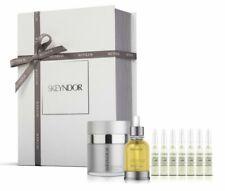 Skeyndor Set con Eternal Cream 50ml, Sleeping Oil 30ml y UNIQCURE 7 Pieces de 2ml