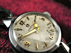1952 Ladies Vintage OMEGA 244 Signed Crown Quality Retro Watch