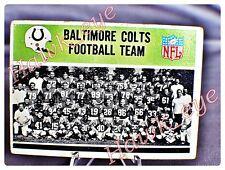 1965 Philadelphia #1 Baltimore Colts Team Card  EX-NM