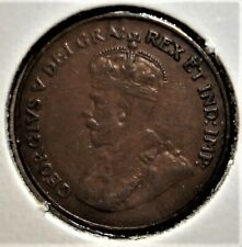 1923 Canada One Cent Coin, Nicer Detail