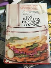 Jean Anderson's Processor Cooking by Jean Anderson (1979, Hardcover)