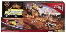 Official Disney Cars 3 Crazy 8 Smash & Crash Derby Playset  **NEW**