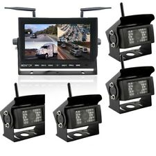 DIGITAL Wireless DVR 2 Camera System with 9 inch LCD Monitor