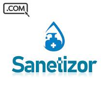 Sanetizor .com - Premium Domain for Health Safety One Word Cheap Domain Name
