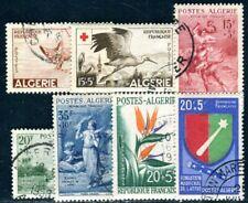 ALGERIE 1957 Yvert 343-344,346-348,351-352 gestempelt gute WERTE 47€(F4689