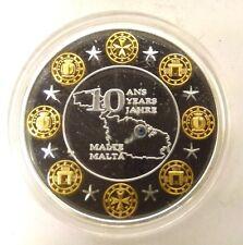 MALTE - 10 ANS DE L'EURO - SWAROVSKI