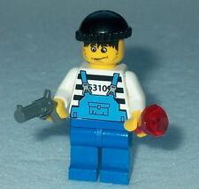 TOWN/CITY Lego Jewel Thief/Robber w/Gun NEW Genuine Lego