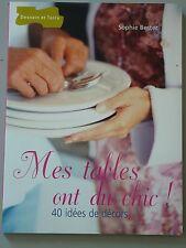 MES TABLES ONT DU CHIC - ED