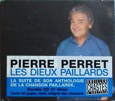 PIERRE PERRET (Coffret 2CD) LES DIEUX PAILLARDS  NEUF SCELLE