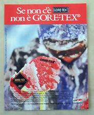 C078-Advertising Pubblicità-1997- GORE-TEX