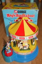 CORGI #852 MAGIC ROUNDABOUT musical Carrousel 1972 vintage rare en boîte d'origine