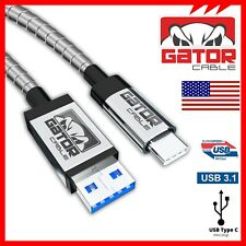 All Metal USB-C 3.1 Fast Charging Data Sync Cable Samsung Note 8 S8 S8+ S9 S9+