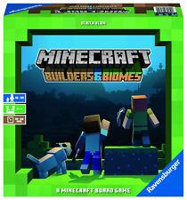 Minecraft Builders & Biomes - juego de mesa Ravensburger