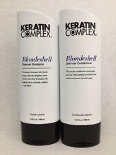 Keratin Complex Blondeshell Debrass & Brighten Shampoo and Conditioner 13 oz