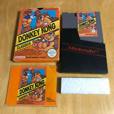 Nintendo NES Boxed Game Complete - Donkey Kong Classics PAL B DJ-FRA