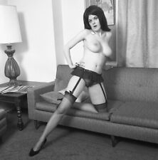 1960s Enke Negative, busty nude pin-up girl Bonnie Cooper, cheesecake, t242824