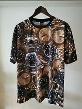 Crooks & Castles All Over Watch T-shirt Top Timepiece Repeat Extra Large