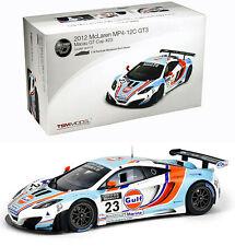 TRUESCALE 2012 McLaren MP4-12C GT3 #23 Macau GP Gulf Livery LE 300 pcs 1:18 New!