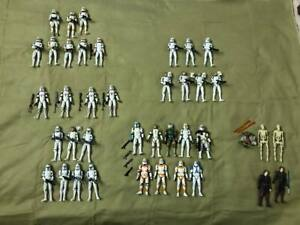 Star Wars Clone Wars Loose 3.75 inch Lot of 40 Figures & Accesories