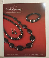 SARAH COVENTRY Jewelry 2008 Fall/Holiday Catalog, paper, NEW mint