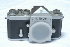 Nikon F Eye Level 35mm SLR Silver Body Only SN 6853078