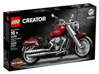 LEGO Creator Expert: Harley-Davidson Fat Boy (10269) NEW SHIPS TODAY