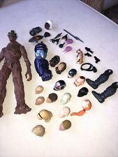 marvel legends 6 inch action figure parts lot