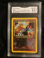ENTEI GMA NM/MT+ 8.5 2001 Pokémon #34 Release Black Star Promo Reverse Holo