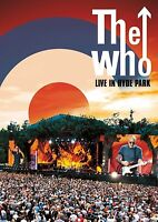 THE WHO - LIVE IN HYDE PARK  (LTD EDT DVD+3LP) 3 DVD + CD NEU
