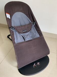BabyBjorn 005022US Soft Bouncer - Black/Gray