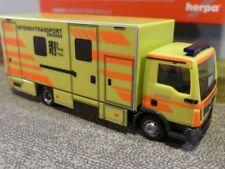 1/87 Herpa MAN TGL Koffer-LKW Intensivtransport Dresden 093347