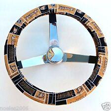 Handmade Steering Wheel Cover NHL Anaheim Ducks Hockey