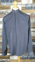 Ciro Citterio Blue Grey Soft Touch Long Sleeve Mens Shirt Size Medium M