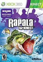 Rapala for Kinect XBOX 360 NEW! FISHING, FISH, BOAT RACE, LURES, BASS, FAMILY  0