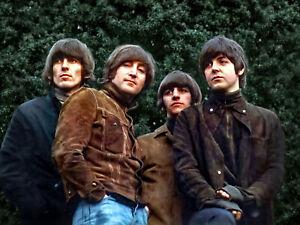 "The Beatles Rubber Soul Photo Print  14 x 11"""