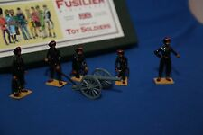 FUSILIER MINIATURES INDIAN ARMY MOUNTAIN GUN AND CREW - 54MM