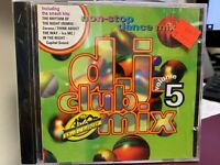 D.J. CLUB MIX VOL 5 MIXED CD 1994 POLYTEL 740012 sealed