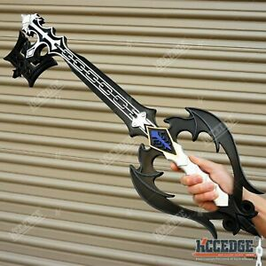 """34.5"""" Kingdom Hearts Foam Oblivion Keyblade Cosplay Halloween Foam Prop"""