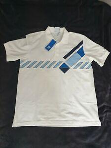 Adidas Lendl tennis Polo Shirt Large