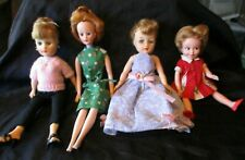 4 Vintage Clothed Dolls - Horseman, Madame Alexander, Ideal, and Deluxe Reading