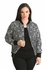 Geometric Plus Size Coats & Jackets for Women