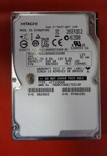 "4 X HITACHI HUC106060CSS600, 600GB 10K SAS 2.5"" HDD TESTED WORKING"
